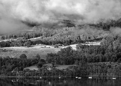 Mark Hopgood-Earle View across Huon River