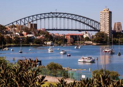 Pam Parks Sydney Harbour