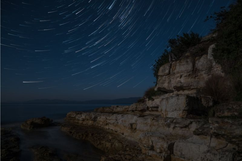 July 2020 – Star Trails theme