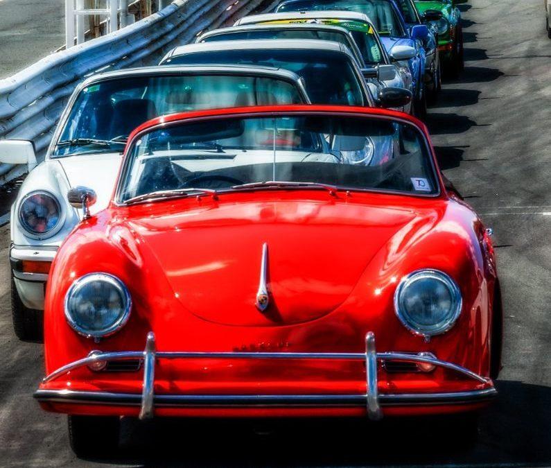 Baskerville Raceway with Porsche and Mark Galer
